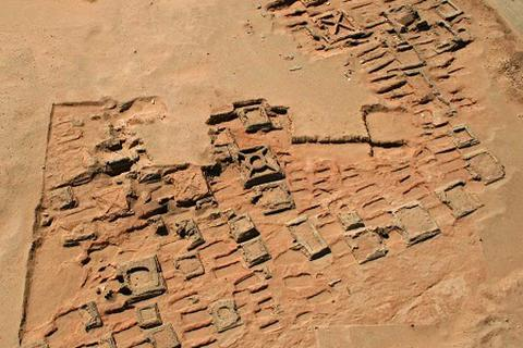 Phát hiện 35 kim tự tháp tại Sudan