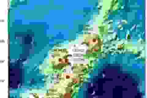 Phát hiện núi lửa lớn nhất Trái đất