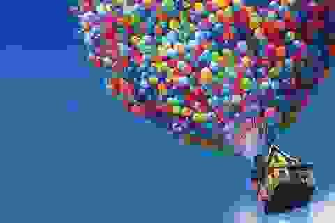 Vượt Đại Tây Dương bằng khinh khí cầu bóng bay như trên phim