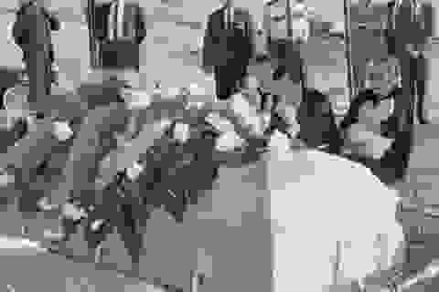 Lễ tang buồn thảm của kẻ ám sát Tổng thống Mỹ Kennedy