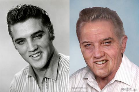 Nếu còn sống, John Lennon, Elvis Presley... trông sẽ như thế nào?