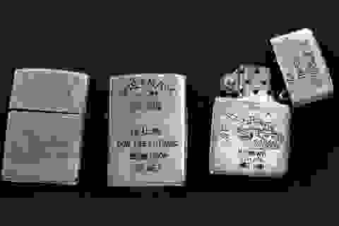 Bật lửa của lính Mỹ tham chiến tại Việt Nam trở thành thú sưu tầm
