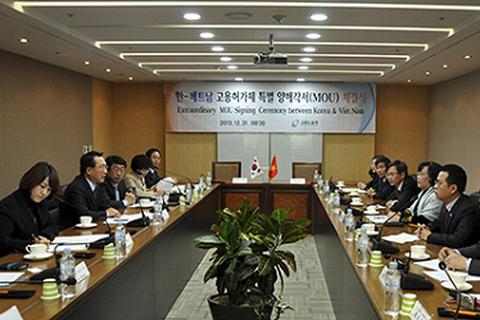 Nối lại chương trình đưa lao động Việt Nam sang Hàn Quốc