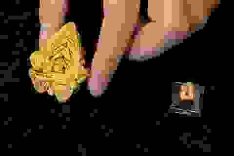 Phát hiện tinh thể vàng lớn nhất thế giới