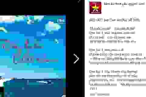 Bài thơ người lính đảo gửi con trai gây xúc động mạnh