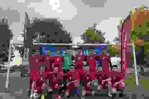 Du học sinh Việt sôi nổi tranh giải bóng đá sinh viên trên đất Pháp