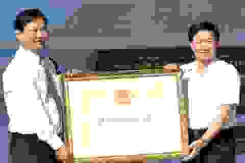 Khu căn cứ Tỉnh ủy Bạc Liêu nhận Bằng di tích lịch sử cấp Quốc gia