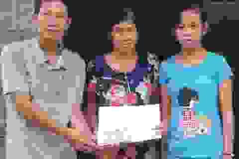 Gần 73 triệu đồng đến với gia đình ông Hà Văn Lâm