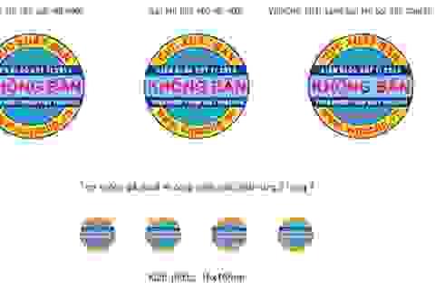 Ban hành tem chống giả lịch blốc năm 2013