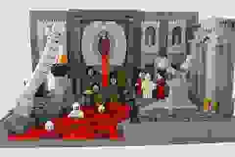 Tái hiện chín tầng địa ngục qua những mảnh ghép lego