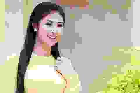 Hoa hậu Ngọc Hân đề cao vẻ đẹp của lòng nhân ái