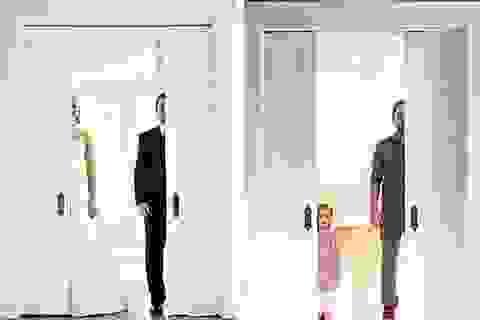 Câu chuyện xúc động từ một bộ ảnh cưới đang gây sốt