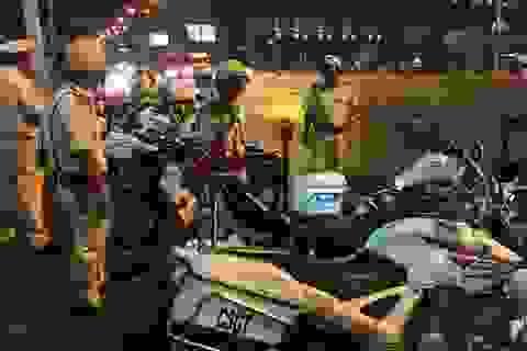 CSGT cửa ngõ Sài Gòn liên tiếp tham gia trấn áp tội phạm
