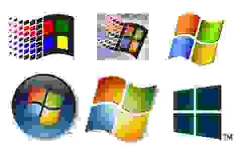 """Quá trình """"tiến hóa"""" từ Windows 1.0 lên Windows 10 trong một bức ảnh động"""