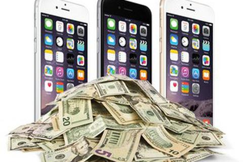 Apple chiếm 94% lợi nhuận trên thị trường smartphone trong quý III/2015