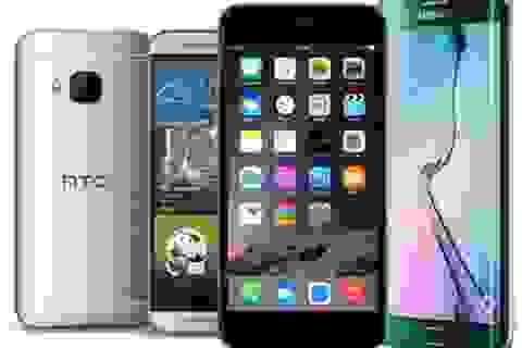 """Doanh số smartphone quý III/2015 tăng nhẹ, Samsung tiếp tục """"thống trị"""""""