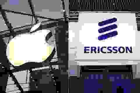 Apple phải trả tiền cho Ericsson