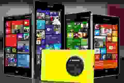 """Thị phần của Lumia chỉ còn 1,1%, Microsoft vẫn """"bình chân như vại""""?"""