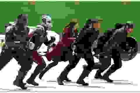 """Ấn tượng clip hậu trường phim """"Captain America 3"""" chưa qua xử lý đồ họa"""