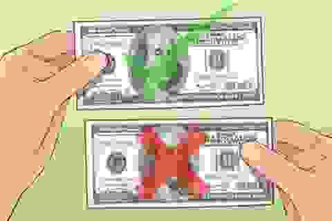 Tại sao bạn không thể scan hoặc photo được tiền?