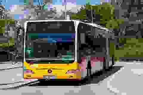 Bé trai 11 tuổi lấy cắp xe buýt lái đi đón khách