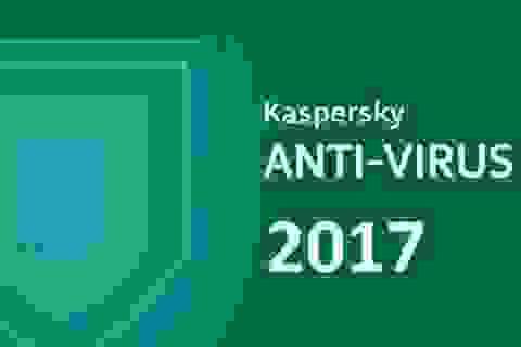 Cách sở hữu miễn phí bản quyền phần mềm bảo mật Kaspersky Antivirus 2017