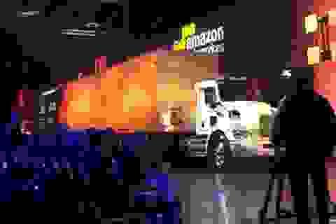 Amazon sử dụng xe container để... vận chuyển dữ liệu