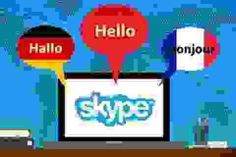 Microsoft thêm chức năng phiên dịch trực tiếp khi gọi điện thoại qua Skype