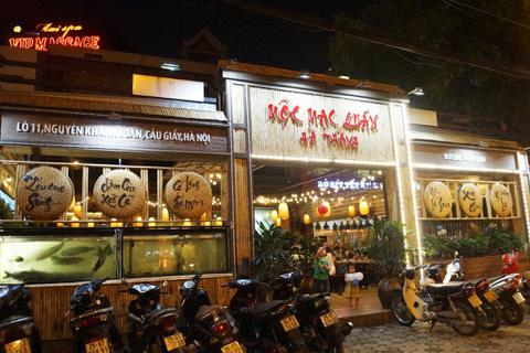 Mộc Mạc Quán Hà Thành - nơi hội tụ tinh hoa ẩm thực Bắc Bộ
