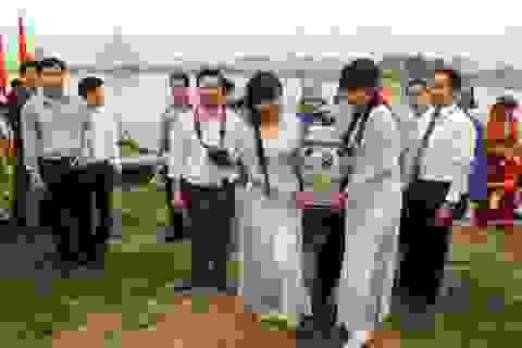 Độc đáo nghi lễ rước nước dâng vua Đinh Tiên Hoàng