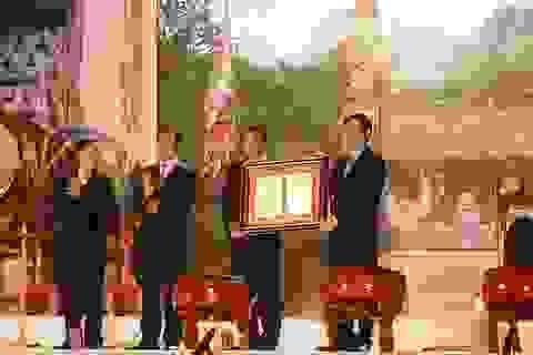 Công bố quyết định Cột kinh Phật là bảo vật quốc gia