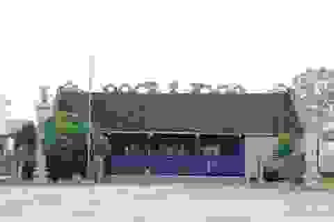 Ngôi đình làng bằng đá ở cố đô Hoa Lư