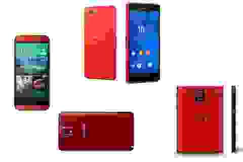 Loạt smartphone cao cấp màu đỏ hấp dẫn cho lễ Giáng sinh