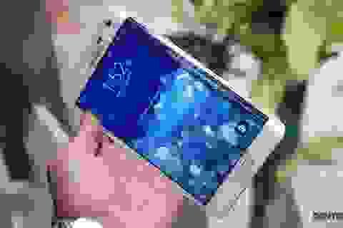 Cận cảnh Galaxy Note Edge sắp bán ra tại Việt Nam