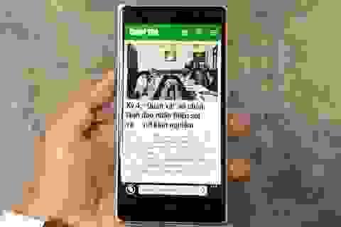 Cận cảnh Lumia 830 phiên bản đặc biệt tại Việt Nam