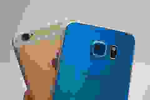 Samsung Galaxy S6 chính hãng đọ camera cùng iPhone 6