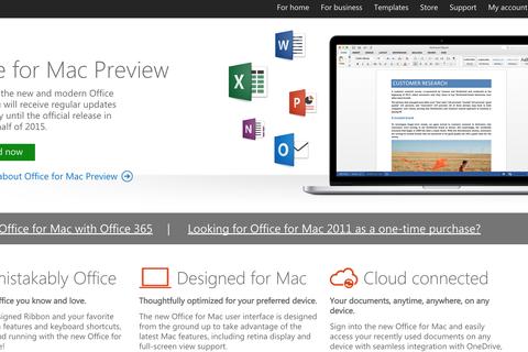 Microsoft tung bản thử nghiệm Office 2016 cho người dùng Mac