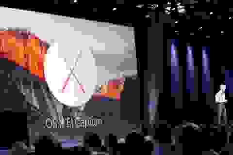 Apple trình làng hệ điều hành thế hệ OS X El Capitan