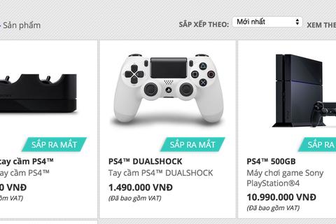 Sony sắp bán PlayStation 4 giá 11 triệu đồng tại Việt Nam