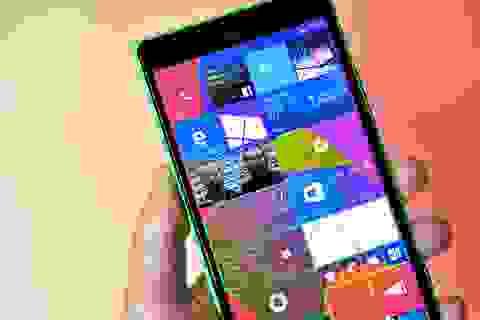Microsoft phát hành bản cập nhật Windows 10 mobile build 10149 slow