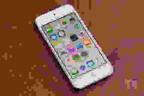 Cận cảnh máy nghe nhạc iPod touch thế hệ mới