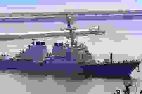 Việt Nam tôn trọng quyền đi qua vô hại của tàu Mỹ ở Hoàng Sa