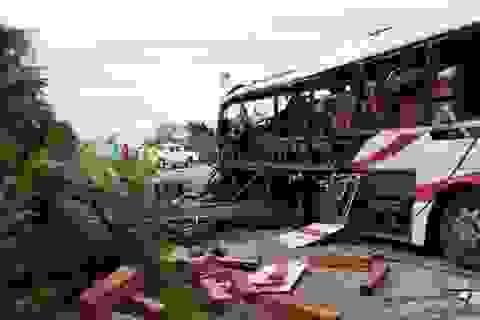 Bộ Ngoại giao chỉ đạo xác minh vụ nổ xe khách làm 8 người chết tại Lào