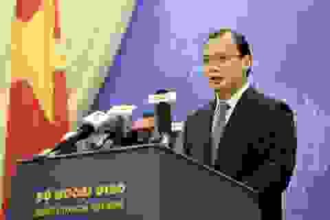 Việt Nam kêu gọi các bên kiềm chế sau phán quyết của Tòa trọng tài