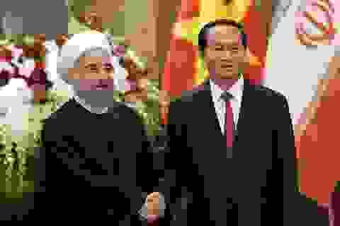 Việt Nam-Iran coi hợp tác kinh tế là cơ sở thúc đẩy quan hệ song phương