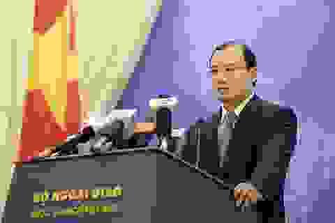 Việt Nam phản đối Đài Loan diễn tập trên đảo Ba Bình