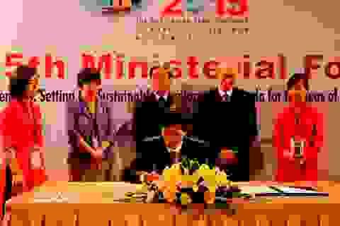 Thông qua chiến lược phát triển bền vững các biển Đông Á