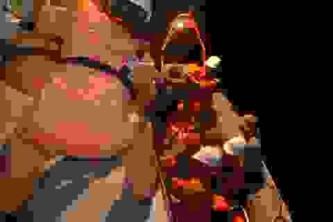 Cứu nạn ngư dân bị bỏng từ đầu đến chân