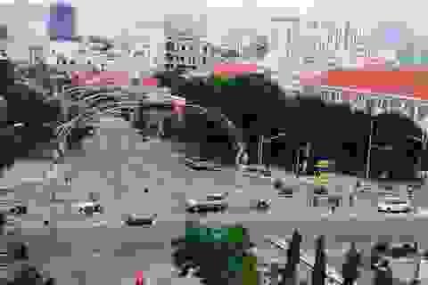 Đà Nẵng tạm dừng thi công hầm chui vì tắc đường