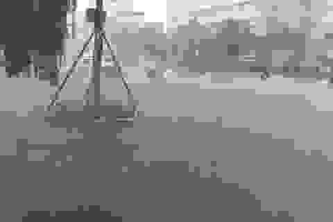 Đà  Nẵng: Nhiều tuyến đường ngập nặng trước bão